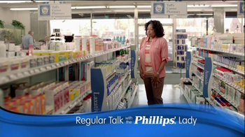 Phillips Relief TV Spot, 'Regular Talk' - Thumbnail 1