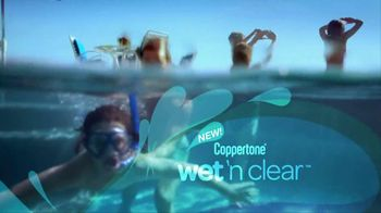 Coppertone TV Spot For Wet ' N Clear Kids Continuous Spray - Thumbnail 8