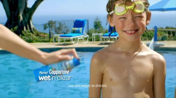 Coppertone TV Spot For Wet ' N Clear Kids Continuous Spray - Thumbnail 4