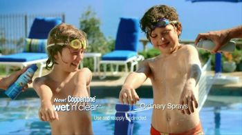 Coppertone TV Spot For Wet ' N Clear Kids Continuous Spray - Thumbnail 5