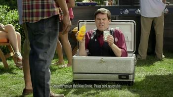 Smirnoff TV Spot For Signature Screwdriver With Cooler Bartender - Thumbnail 2