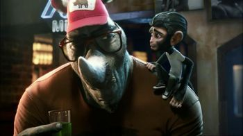 MiO TV Spot For Green Thunder With Slapping Monkey - Thumbnail 4
