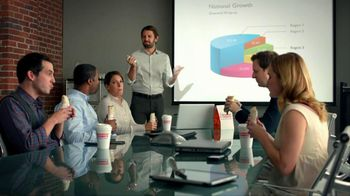 Dunkin' Donuts TV Spot For Breakfast Burrito Meeting - Thumbnail 5