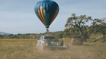 Subaru TV Spot For Outback With Hot Air Balloon