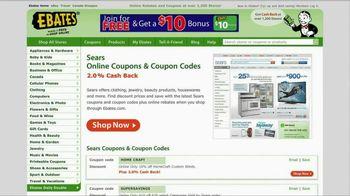 Ebates TV Spot For Ebates.com Cash Back - Thumbnail 4