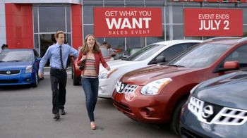 Nissan Get What You Want Sales Event TV Spot, '2012 Frontier and Rogue' - Thumbnail 1