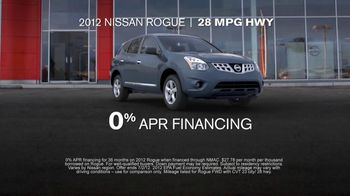 Nissan Get What You Want Sales Event TV Spot, '2012 Frontier and Rogue' - Thumbnail 4