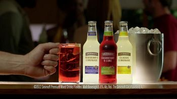 Smirnoff TV Spot For Malt Mix Drinks Fridge Bartender  - Thumbnail 6