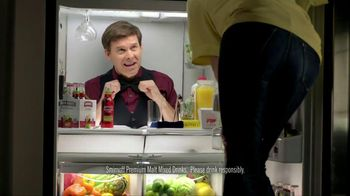 Smirnoff TV Spot For Malt Mix Drinks Fridge Bartender  - 22 commercial airings