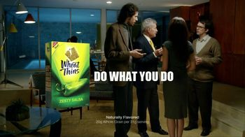 Wheat Thins TV Spot For Zesty Salsa Featuring Alex Trebek - Thumbnail 6