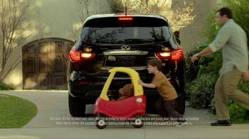 2012 Infiniti JX TV Spot, 'Chances: Backup Collision Intervention'