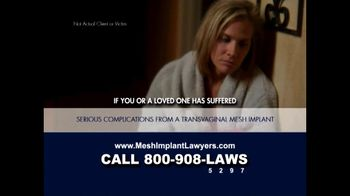 Goza Honnold Trial Lawyers TV Spot For Transvaginal Mesh Alert - Thumbnail 4