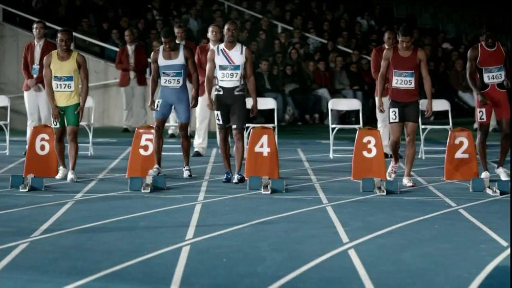 Gillette TV Commercial For Fusion ProGlide Featuring Tyson Gay