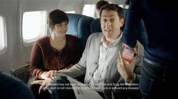 Phillips Relief Colon Health TV Spot, 'Airplane' - Thumbnail 7
