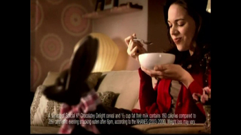 Special K Chocolatey Delight Cereal TV Spot, 'Cravings' - 4286 commercial airings