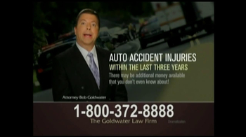 GoldWater Law Firm TV Spot For Car Accident Victims - Thumbnail 6