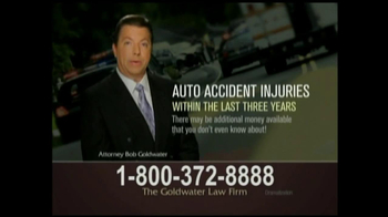 GoldWater Law Firm TV Spot For Car Accident Victims - Thumbnail 7