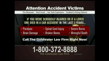 GoldWater Law Firm For Car Accident Victims thumbnail