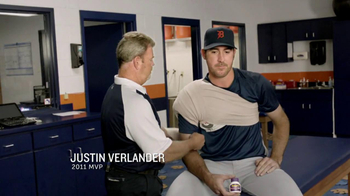 Bayer AG TV Spot, 'Aspirin For Tough Pain' Featuring Justin Verlander - 20 commercial airings