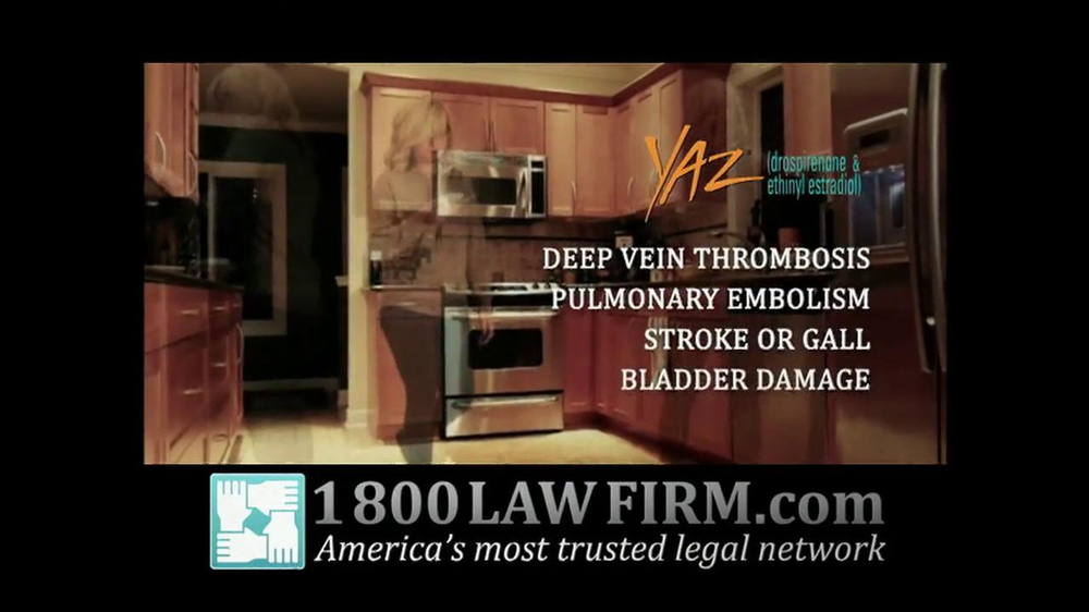 Pulaski Law Firm >> 1-800-LAW-FIRM TV Commercial For Injured By Yaz - iSpot.tv