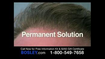 Bosley TV Spot, '250 Gift Certificate' - Thumbnail 3