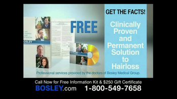 Bosley TV Spot, '250 Gift Certificate' - Thumbnail 6