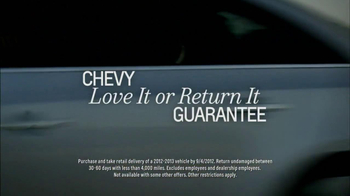Chevrolet TV Spot For Love It Or Return It Guarantee - Thumbnail 10