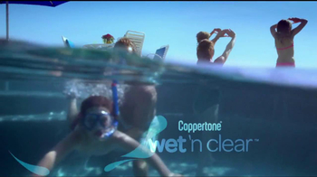 Coppertone TV Spot For Wet'n Clear Sunscreen - Thumbnail 8