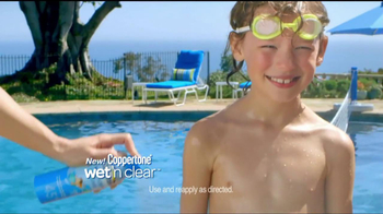 Coppertone TV Spot For Wet\'n Clear Sunscreen
