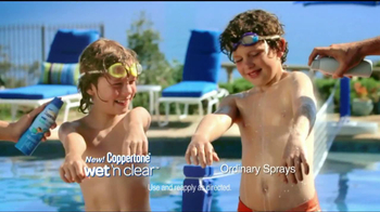 Coppertone TV Spot For Wet'n Clear Sunscreen - Thumbnail 4