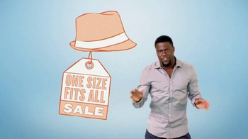 Fandango Gift Card TV Spot, 'One Size Fits All' Featuring Kevin Hart - Thumbnail 2
