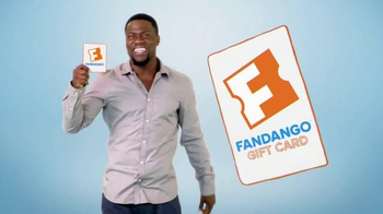 Fandango Gift Card TV Spot, 'One Size Fits All' Featuring Kevin Hart - Thumbnail 4