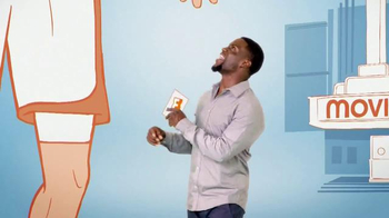Fandango Gift Card TV Spot, 'One Size Fits All' Featuring Kevin Hart - Thumbnail 6