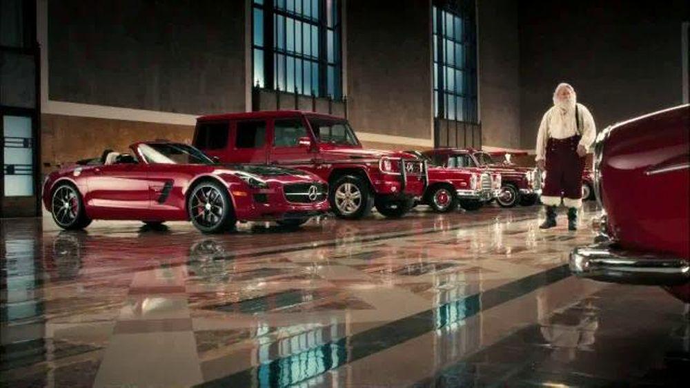 Mercedes Benz Christmas Commercial 2020 Mercedes Benz TV Commercial, 'Santa's Garage'   iSpot.tv
