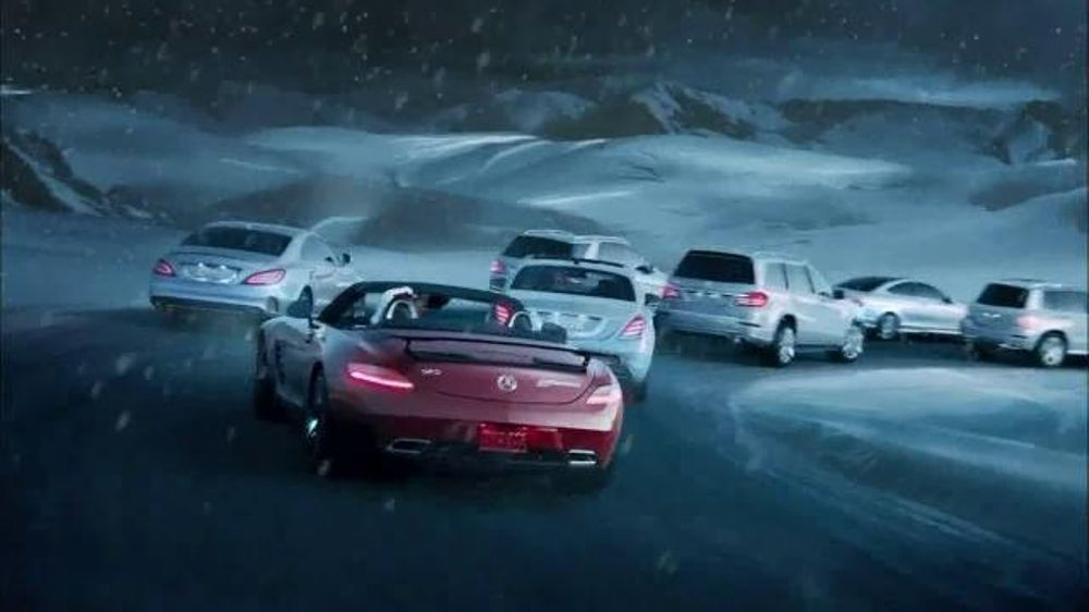 Infiniti Certified Pre Owned >> Mercedes-Benz TV Commercial, 'Santa's Garage' - iSpot.tv