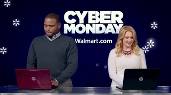 Walmart Cyber Monday TV Spot Featuring Anthony Anderson, Melissa Joan Hart - Thumbnail 1