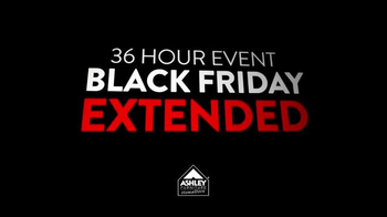 Ashley Furniture Homestore TV Spot, 'Black Friday Event Extended' - Thumbnail 3