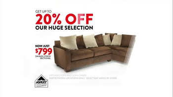 Ashley Furniture Homestore TV Spot, 'Black Friday Event Extended' - Thumbnail 4