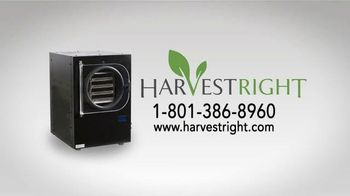 Harvest Right Freeze Dryer TV Spot, 'Afford Your Own Freeze Dryer' - Thumbnail 9