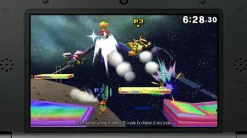 Super Smash Bros. for Nintendo 3DS TV Spot, 'Epic Attacks' - Thumbnail 5
