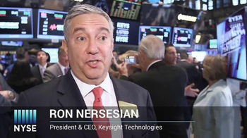 New York Stock Exchange TV Spot, 'Keysight Technologies' - Thumbnail 4