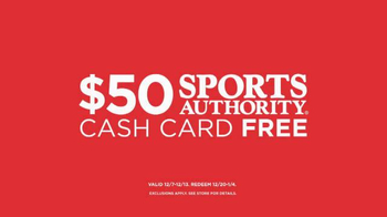 Sports Authority Holiday Sale TV Spot, 'It's Here!' - Thumbnail 8