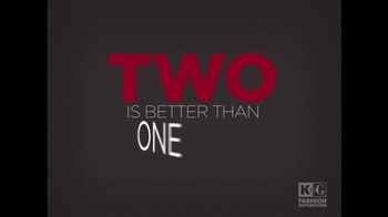 K&G Fashion Superstore TV Spot, 'Two is Better Than One' - Thumbnail 2