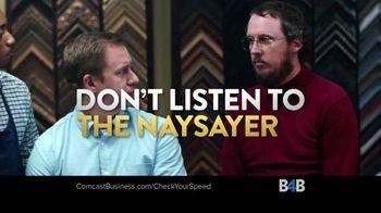 Comcast Business TV Spot, 'Naysayer: Speed Test' - Thumbnail 8