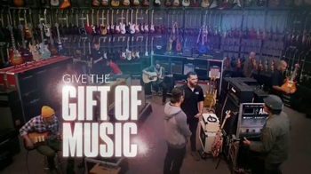 Guitar Center Holiday Sale TV Spot, 'Music is a Gift' - 1312 commercial airings