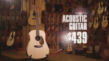 Guitar Center Holiday Sale TV Spot, 'Music is a Gift' - Thumbnail 4