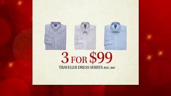 JoS. A. Bank Black Friday Doorbusters TV Spot, 'Traveler Shirts' - Thumbnail 3