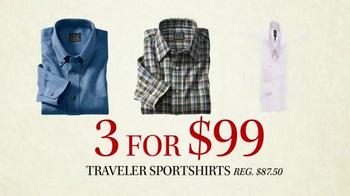 JoS. A. Bank Black Friday Doorbusters TV Spot, 'Traveler Shirts' - Thumbnail 5
