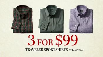 JoS. A. Bank Black Friday Doorbusters TV Spot, 'Traveler Shirts' - Thumbnail 6