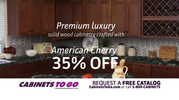 Cabinets To Go American Cherry Sale TV Spot - Thumbnail 2